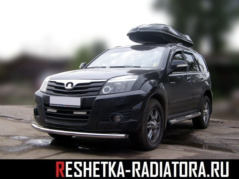 Защита бампера d60 Great Wall Hover H3
