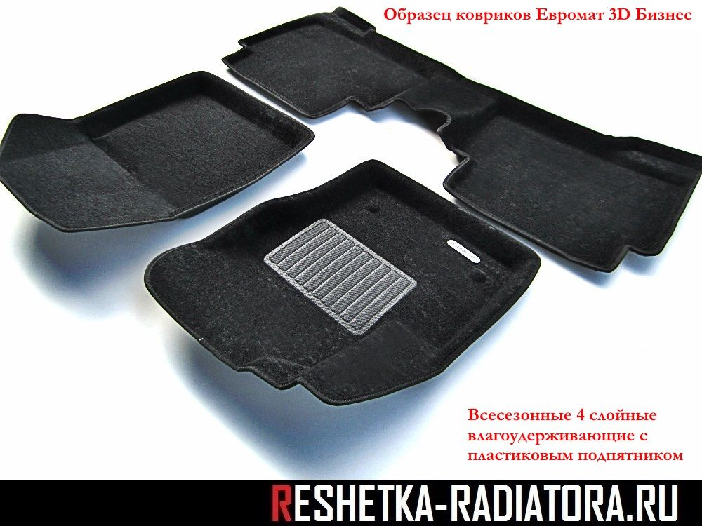 Коврики в салон Euromat 3D Business Mercedes ML W166 2012-2015