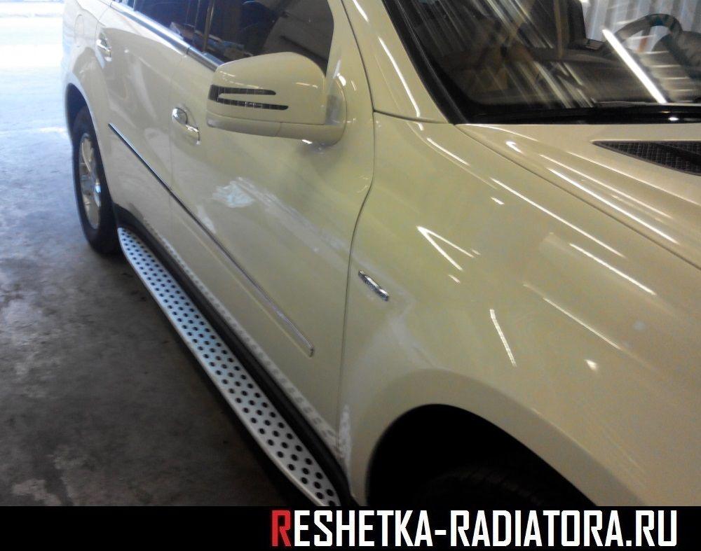 Боковые подножки Mercedes-Benz GL W164