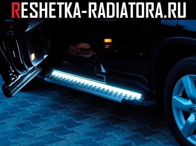 Подсветка порогов автомобиля своими руками 18