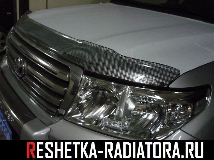 Дефлектор капота EGR, Австралия Toyota Land Cruiser 200 2013-2008-2014