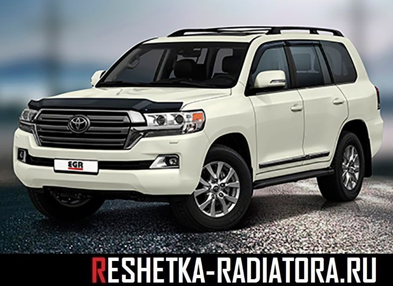 Toyota Land Cruiser 200 2016-2017 дефлектор капота EGR, Австралия