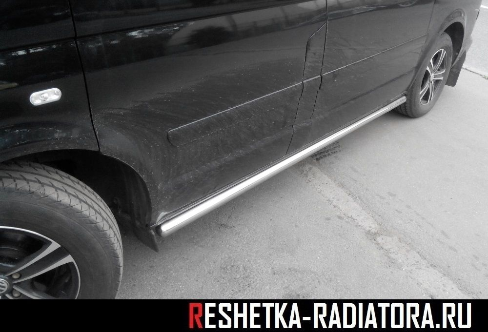Боковые трубы, защита бампера уголки Volkswagen T5 Multivan 2003-2010