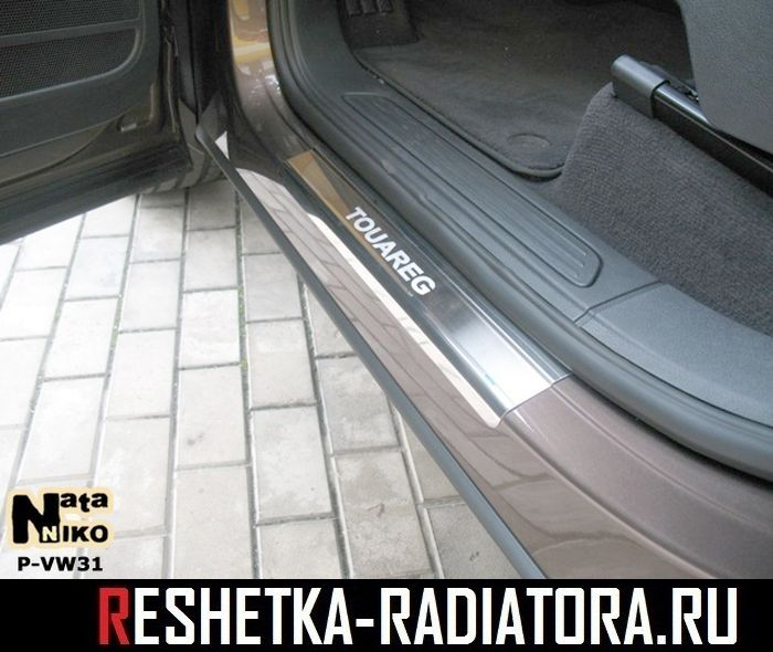 Накладки на пороги 4шт (нерж. сталь) Chrysler PT Cruiser 2000-2010